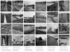 """Robert SMITHSON: Illustrations for """"The Monuments of Passaic"""", an article written by the artist and published in: Artforum, December 1967."""