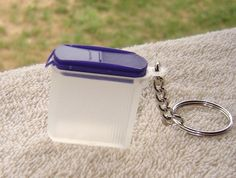 Tupperware German Keychain Modular Plus Blue Seal   eBay