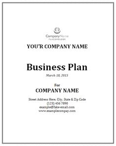 Bakery Business Plan Template  Download Free Sample Business