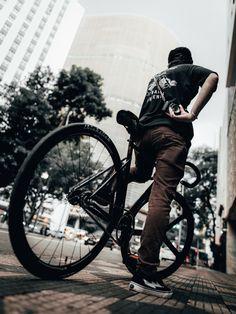 Black Fixed Gear SpeedPark Alloy 6061 Handlebar 25.4mm x 420mm For Road Bike