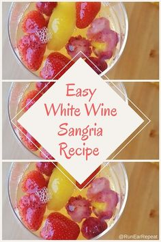 Super Easy White Wine Recipe http://runeatrepeat.com/2016/07/22/super-easy-white-wine-recipe/