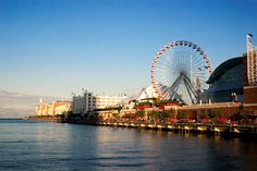 Navy Pier.  One of my most vivid childhood memories.  Went here every summer for years.