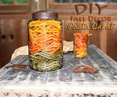 DIY Fall Decor Pasta Cheat #DIY