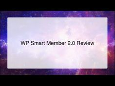 WP Smart Member 2.0 Review