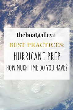 When you see a hurricane heading towards you, how much time do you have for hurricane prep? Step-by-step way to determine when you need to be ready. Cruise Boat, Boat Safety, I Need To Know, Boating, Prepping, Learning, Tips, Rowing