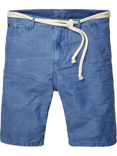 Cotton/linen slub beach shorts | Short pants | Men Clothing at Scotch & Soda