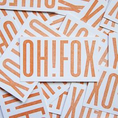 Oh!Fox by Chelsea Fullerton