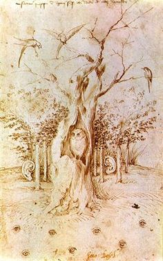 the woods that hear and see hieronymus bosch