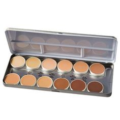 Camera Ready Cosmetics™ - Ben Nye Essential Matte HD Foundation Palette, $60.00 (http://camerareadycosmetics.com/products/ben-nye-essential-matte-hd-foundation-palette.html)