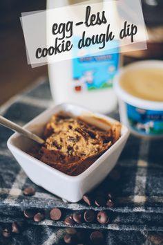 Eggless (edible) Cookie Dough Dip — Organic Pastures