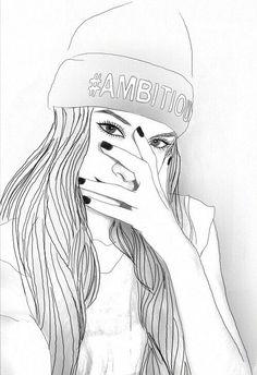Die 111 Besten Bilder Von Mädchen Zeichnen Tumblr Drawings Girl