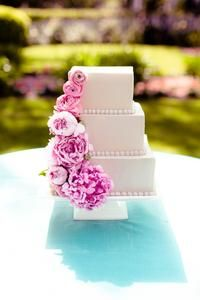 Ranunculus on the cake