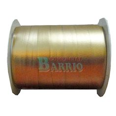 Rollo de Cinta Decorativa color Oro mate Medidas: 10mm x 25mts