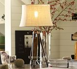 Pottery Barn Surveyor's Wood & Metal Table Lamp (Office ?) $279.00