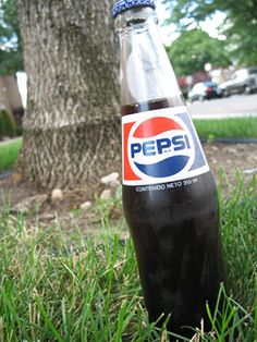 Pepsi (Mexican Glass bottled)