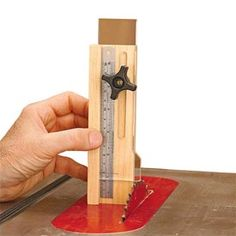 Quick-and-Easy Height Gauge Woodworking Plan from WOOD Magazine tools for beginners tools for sale tools homemade tools jigs tools must have tools workshop Learn Woodworking, Woodworking Patterns, Woodworking Workbench, Woodworking Techniques, Popular Woodworking, Woodworking Workshop, Woodworking Crafts, Woodworking Magazine, Woodworking Organization
