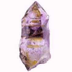Smoky Amethyst Quartz crystal from Goboboseb, Brandberg area, Namibia