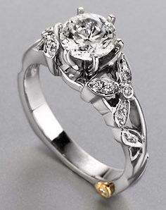 Beauty And The Beast Inspired Wedding Rings - Unique Wedding Ideas
