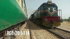 Bolan Mail Cross To Jaffar Express Near Sibi Railway Station Pakistan Railways, Train Journey, Travel, Viajes, Destinations, Traveling, Trips