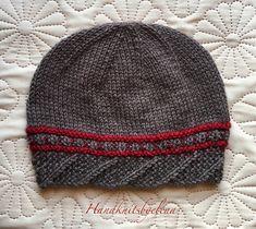 "Ravelry: Hat ""Noemi"" pattern by Yelena Chen Baby Hats Knitting, Sweater Knitting Patterns, Knit Patterns, Knitted Hats, Kids Knitting, Knitting Needles, Knit Crochet, Crochet Hats, Stockinette"