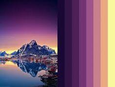 Resultado de imagem para paleta de cores paisagens