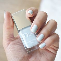 Dior Spring 2014 - Nail polish swatches, Porcelaine
