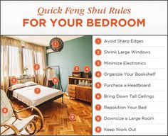 Feng Shui Living Room Layout - Feng Shui Bedroom Design The Complete Guide. You are in the right place about feng shui bedroom inspiration Here we offer you the most beau Feng Shui Bedroom Layout, Feng Shui Your Bedroom, Feng Shui Bathroom, Room Feng Shui, How To Feng Shui Your Home, Bedroom Layouts, Feng Shui Layout, Bedroom Hacks, Bedroom Art