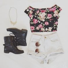 Floral Outfit
