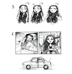 C. Cassandra comics :: 9 MORE Truths: Having Long Hair | Tapastic Comics - image 3