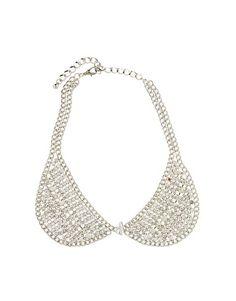 Love Rocks Crystal Collar Necklace