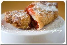 cherry pie egg rolls