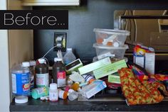 Before & After: Reorganizing a Family Medicine Cabinet — Pancakes & French Fries