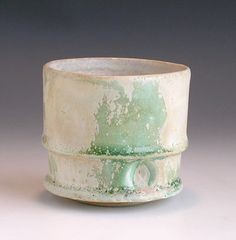 Gary Wood.  Oxidized Stoneware.
