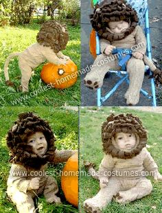 coolest homemade lion baby costume - 10 Month Old Baby Boy Halloween Costumes