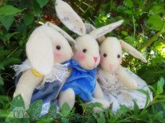 ATELIER CHERRY: Amigos coelhos