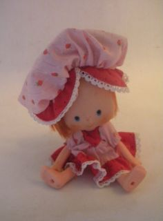 Vintage 1979 Party Pleaser Strawberry Shortcake Doll