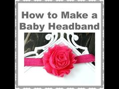 How to Make a Basic Baby Headband – Hairbow Supplies, Etc.