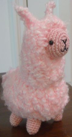 Fluffy the AlpacaLlama Amigurumi Crochet Pattern by LittleFoot330