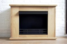 New-Design-Fireplace-K-BENHAVN-Bio-Ethanol-Spruce-Nature-Walnut-Oak-MDF