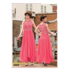 Fabboom Latest Stylish Pink Long Net Gown for Rs 2500 at #Celebstall  #gowns #weddingseason #fashion #style #trend #onlineshopping http://goo.gl/a2OGTZ