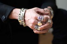 Chrome Hearts and Werkstatt Munchen Jewelry #style #menswear