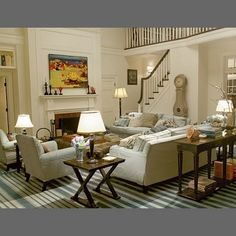 CHIC COASTAL LIVING: Something's Gotta Give Beach House. One of my favorite movies and fell in love with this whole house. My dream house Architectural Digest, My Living Room, Home And Living, Living Spaces, Coastal Living, Living Area, Cozy Living, Coastal Homes, Luxury Living