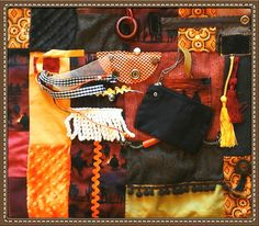 What is a Fidget Quilt??? MAN'S COWBOY CAMPFIRE Activities for Alzheimer's Stroke or Dementia Patients by Restless Remedy