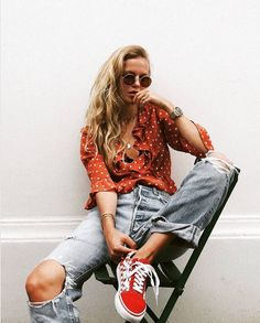 Star Spangled! # You're It: Five of our favorite #VansGirls photos from IG last week. Via @fashiflare