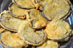 melanzane fritte in pastella Penne Pasta, Antipasto, Eggplant, Italian Recipes, Nom Nom, Buffet, Vegetarian Recipes, Stuffed Mushrooms, Pork