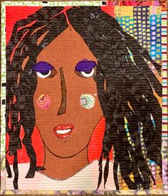 Art Faces, Face Art, Her Cut, Applique Quilts, Patch, Northern California, Ava, Projects To Try, Collage
