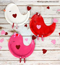 75 Exciting Valentine's Day Party Ideas for Kids – Decor, Craft Project, Games, Treats, Gifts… – Valentinstag Valentine's Day Crafts For Kids, Valentine Crafts For Kids, Daycare Crafts, Mothers Day Crafts, Valentines Day Party, Toddler Crafts, Preschool Crafts, Holiday Crafts, Valentinstag Party