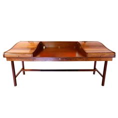 Rosewood Roll-Top Desk by Edward Wormley for Dunbar   From a unique collection of antique and modern desks and writing tables at http://www.1stdibs.com/furniture/tables/desks-writing-tables/