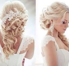 Bilderesultat for wedding hairstyles half up half down vintage