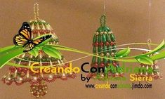 NAVIDAD - CREANDOCONADRIANA Macrame, Christmas Ornaments, Beads, Holiday Decor, Log Projects, Light Installation, Napkin Holders, Holiday Wreaths, Lanterns